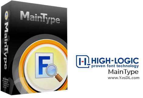 دانلود High-Logic MainType 11.0.0.1266 - نرم افزار مدیریت و مشاهده فونتها