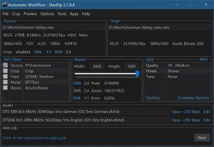 StaxRip.cover1  300x207 - دانلود StaxRip 2.5.0 - مبدل حرفهای صوتی و تصویری برای ویندوز