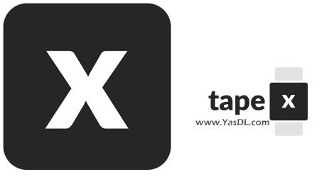 دانلود TapeX 0.3.0 - نرم افزار فیلمبرداری از صفحه نمایش