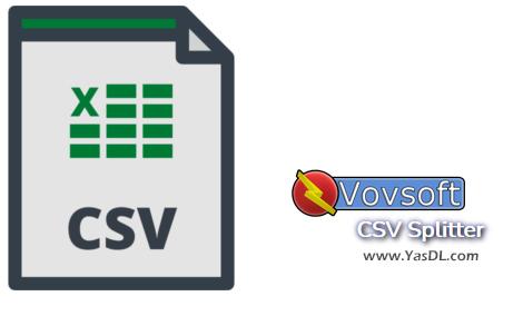 دانلود VOVSOFT CSV Splitter 1.0 - نرم افزار چند تکه کردن فایل CSV