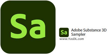 دانلود Adobe Substance 3D Sampler 3.0.0 x64 - نرم افزار ادوبی ساب استنس تریدی سمپلر