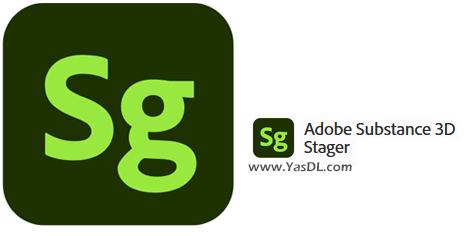 دانلود Adobe Substance 3D Stager 1.0.0 x64 - نرم افزار ادوبی استیجر