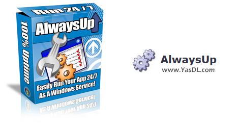 دانلود AlwaysUp 12.8.5.43 - اجرا کردن اپلیکیشنها در قالب ویندوز سرویس
