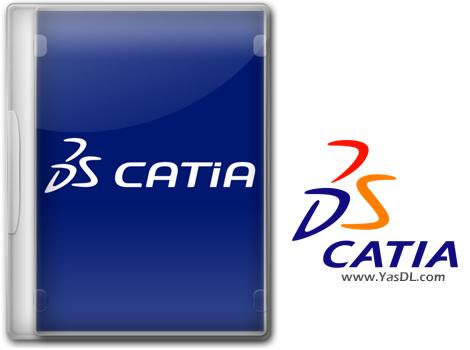دانلود DS CATIA P3 V5-6R2018 SP6 x64 - نرم افزار کتیا؛ طراحی صنعتی