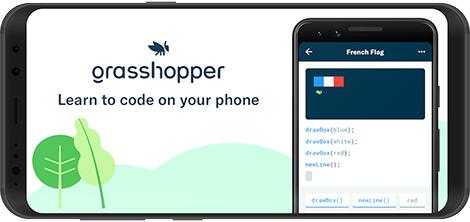 دانلود Grasshopper: Learn to Code 2.62.5 - گرس هاپر: آموزش کدنویسی در اندروید