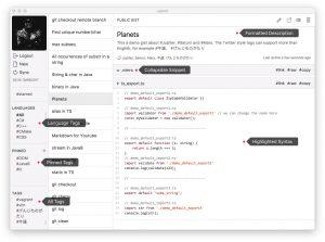 Lepton.cover1  300x223 - دانلود Lepton 1.9.2 - نرم افزار لپتون؛ مدیریت گیست و تکه کدها در گیتهاب