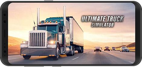 دانلود بازی Ultimate Truck Simulator 1.0.3 - شبیهساز رانندگی کامیون برای اندروید + نسخه بی نهایت