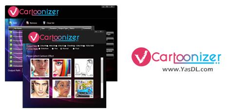 دانلود VCartoonizer 1.4.7 - نرم افزار ساخت ویدیوهای کارتونی