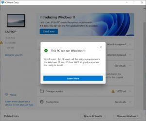 Windows PC Health Check.cover1  300x249 - دانلود Windows PC Health Check 2.3 - آمادهسازی سیستم جهت آپگرید به ویندوز 11