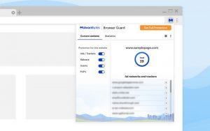 Malwarebytes Browser Guard 2 300x188 - دانلود Malwarebytes Browser Guard 2.3.5 - نرم افزار شناسایی سایتهای اسکم