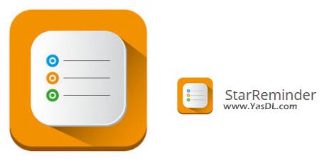 دانلود StarReminder 4.23.02 - نرم افزار برنامهریزی و مدیریت انجام کارها