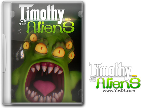 دانلود بازی Timothy vs the Aliens برای PC