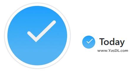 دانلود Today 1.2.0 - نرم افزار برنامهریزی امور و مدیریت لیست اقدامات