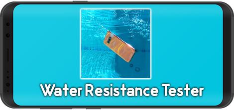 دانلود Water Resistance Tester 1.2.0 - نرم افزار تست ضدآب بودن گوشی موبایل