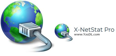 دانلود X-NetStat Professional 6.0.0.23 - نرم افزار نمایش وضعیت شبکه و اینترنت