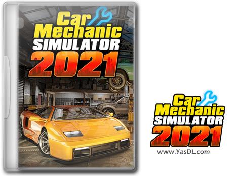 دانلود بازی Car Mechanic Simulator 2021 برای PC