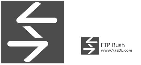 دانلود FTP Rush 3.4.1 + Portable - نرم افزار مدیریت سرور اف تی پی (FTP)