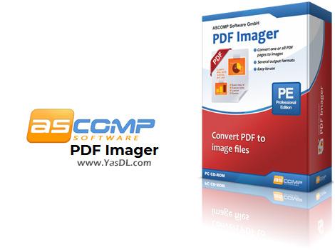 دانلود ASCOMP PDF Imager 1.00 Professional - نرم افزار تبدیل صفحات فایل PDF به عکس