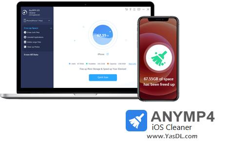 دانلود AnyMP4 iOS Cleaner 1.0.10 - نرم افزار پاکسازی دیوایسهای iOS