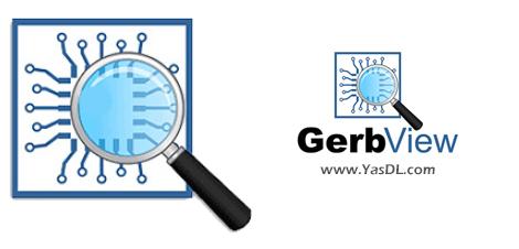 دانلود Gerbview 9.10 - نمایش، پرینت و نشانهگذاری فایلهای Gerber, HPGL, EXcellon