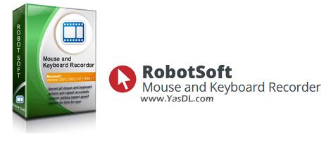 دانلود RobotSoft Mouse and Keyboard Recorder 3.3.2.6 - نرم افزار ضبط و تکرار دستورات موس و کیبورد