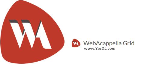 دانلود WebAcappella Grid 1.6.19 - نرم افزار طراحی وبسایت بدون کدنویسی