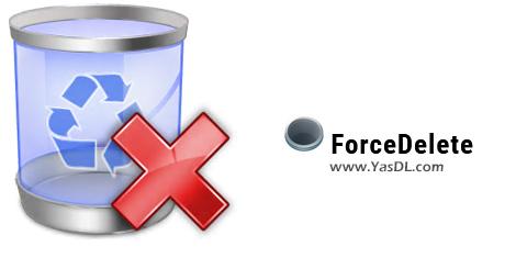 دانلود ForceDelete 1.0.1 - نرم افزار پاک کردن فایل و فولدرهای غیرقابل حذف