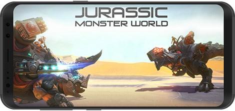 دانلود بازی Jurassic Monster World 0.15.2 - نبرد دایناسورها برای اندروید + دیتا