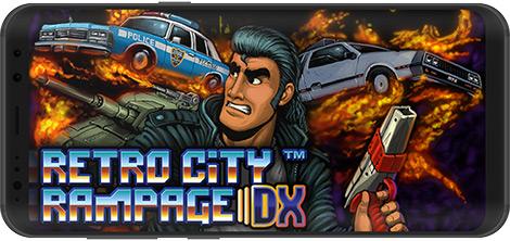 دانلود بازی Retro City Rampage DX 1.0.7 - آشوب در شهر برای اندروید + نسخه بی نهایت