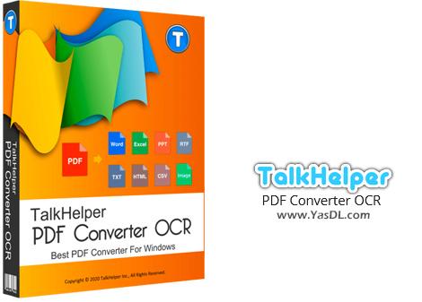 دانلود TalkHelper PDF Converter OCR 2.4.1.0 - مبدل حرفهای اسناد PDF